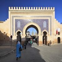 モロッコ フェズ ブージュルード門
