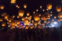 台湾 平渓 天燈祭り
