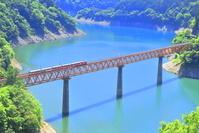 静岡県 大井川鐵道と接岨湖