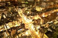 東京都 ミニチュア写真の夜景