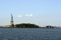 ニューヨーク リバティ島 自由の女神像