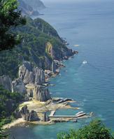 青森県 仏ヶ浦 仏ヶ浦展望台からの眺め