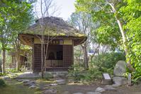 三重県 伊賀市 服部土芳(芭蕉の弟子)の蓑虫庵 廟所