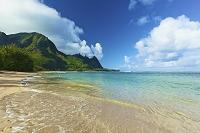 アメリカ合衆国 ハワイ カウアイ島 トンネルズ・ビーチ