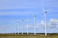 北海道 風力発電用風車