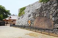 愛知県 名古屋城 清正石と本丸御殿