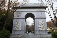 兵庫県 太陽公園の凱旋門