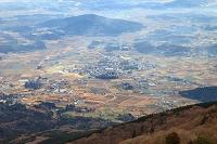 茨城県 つくば市 筑波山(女体山)頂上より