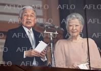 天皇陛下85歳の誕生日 皇居で一般参賀