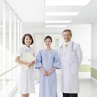 医者と看護師と患者