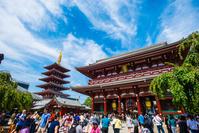 浅草寺 宝蔵門 五重塔