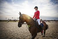 馬術の女性騎手