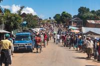 マダガスカル 郊外の風景