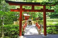 奈良県 桜井市 大神神社の末社 市杵島姫神社