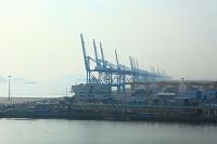 韓国 釜山新港 コンテナターミナル