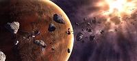 惑星の爆発イメージ
