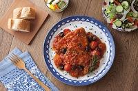 カジキマグロのトマト煮