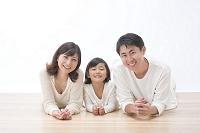 日本人三人家族