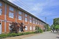 群馬県 富岡製糸場の東繭倉庫
