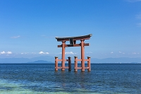 滋賀県 琵琶湖 白鬚神社