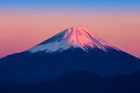 山梨県 赤富士