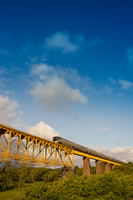 福島県 喜多方市 磐越西線を走行する四季島