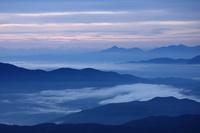 岐阜県 大黒岳(乗鞍岳)からの山並み