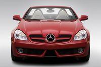 2009 Mercedes-Benz SLK-Series SLK300 in Red - Low/Wide Front