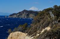 静岡県 黄金崎よりの富士山