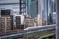 東京都 通過する新幹線の列車