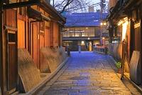 京都府 祇園の町並み