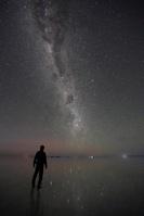 ボリビア ウユニ塩湖の夜