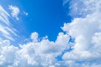 鳥取県 雲浮かぶ青空