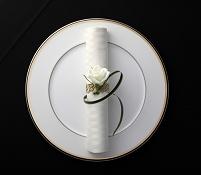 皿とナプキン