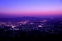 奈良県  若草山より奈良市街