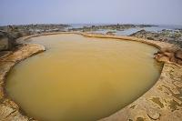 青森県 日本海の露天風呂 黄金崎不老不死温泉