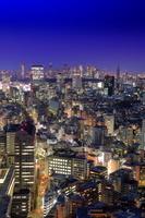 東京都 恵比寿から渋谷新宿方面の夜景