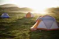 テントと光