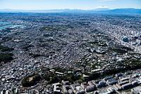 横浜山手地区より横浜市街地の街並み