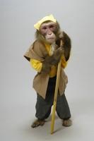 着物を着た猿