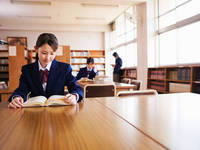 高校の図書室