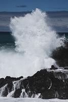 北海道 日本海の高波