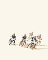 モトクロスバイクレース