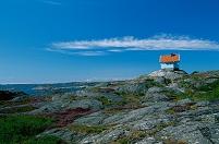 スウェーデン ストックホルム ぽつんと建つ一軒家