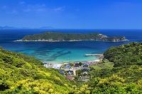 長崎県 頭ヶ島天主堂と海