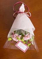 母の日に贈るカーネーションの花束