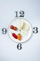野菜の時計