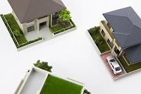 住宅模型 俯瞰