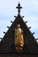 オランダ ウイレム王子 黄金像
