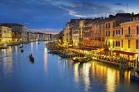 イタリア ベネチア リアルト橋よりカナル・グランデ